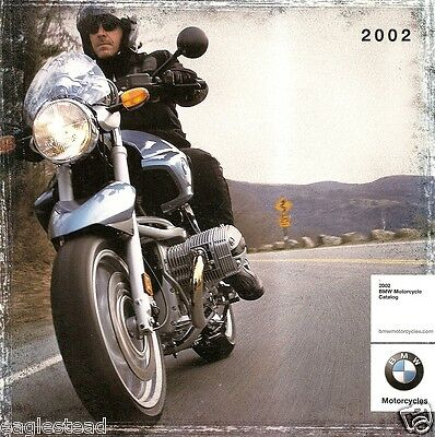 Motorcycle Brochure - BMW - Product Line Overview - 2002 (DC226)