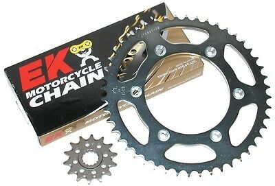 Ek X Ring Chain + Supersprox Steel Sprocket Kit For 08-14 Yamaha Wr250R 13/50