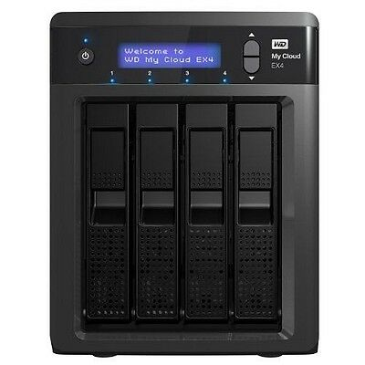 WD My Cloud EX4 NAS/Cloud Personnel - Boîtier NAS 4 baies avec WD RED 8 NEUF