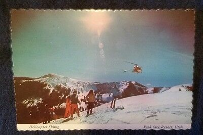 Helicopter Skiing, Park City Resort, Park City, Utah