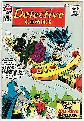 DETECTIVE COMICS ISSUE NUMBER 289 PRODUCED BY DC COMICS vg+