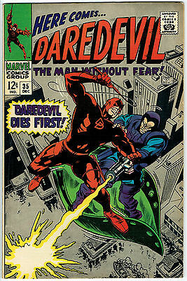 DAREDEVIL ISSUE 35 BY PRODUCED MARVEL COMICS fn/vfn