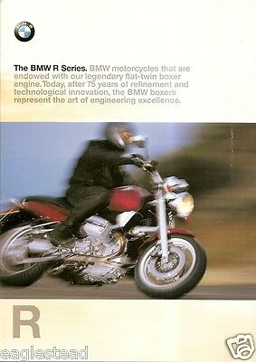 Motorcycle Brochure - BMW - R series Overview - c1998 (DC240)