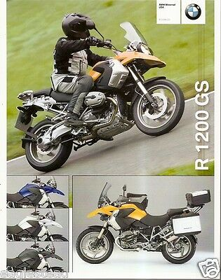 Motorcycle Brochure - BMW - R 1200 GS - 2008 (DC254)