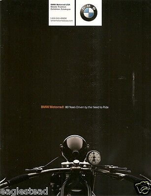 Motorcycle Brochure - BMW - 80 year History Overview Retrospective 2003 (DC238)