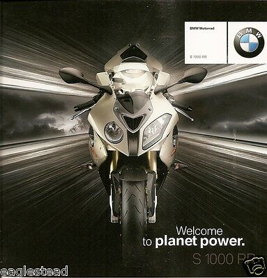 Motorcycle Brochure - BMW - S 1000 RR - 2009 (DC253)