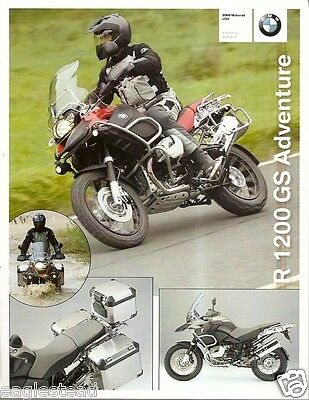 Motorcycle Brochure - BMW - R 1200 GS Adventure - 2008 (DC255)