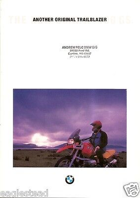 Motorcycle Brochure - BMW - R 1100 GS - c1994 (DC241)