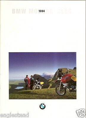 Motorcycle Brochure - BMW - Product Line Overview - 1994 (DC230)