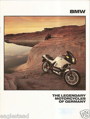 Motorcycle Brochure - BMW - Product Line Overview - 1989 (DC236)