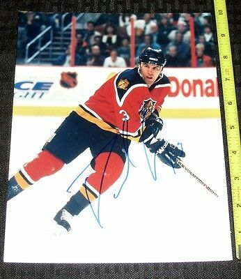 FLORIDA PANTHERS NHL UNIDENTIFIED HAND SIGNED 8X10 PHOTO *#3*FREE S&H 18214