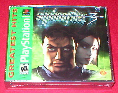 Syphon Filter 3  for the Sony Playstation PS1 PS2 System NEW SEALED