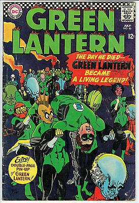 GREEN LANTERN ISSUE 46 PRODUCED BY DC COMICS vg