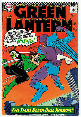 GREEN LANTERN ISSUE 44 BY DC COMICS vg fn