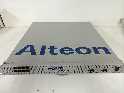 Nortel alteon 2208 application switch (eb1412010) 8-ports Alateon 316698-A R07
