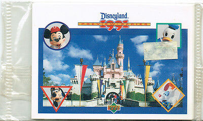 Disneyland 1991 Preview Series Factory Set Of 5