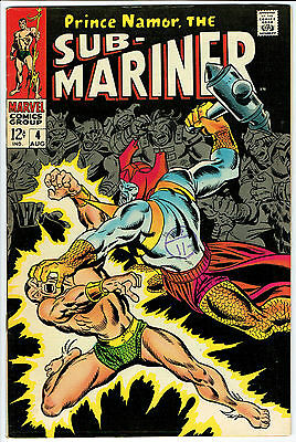 SUB MARINER ISSUE NUMBER 4 BY MARVEL COMICS vfn-