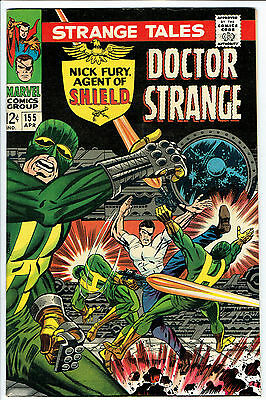 STRANGE TALES ISSUE 155 PRODUCED BY MARVEL COMICS vfn