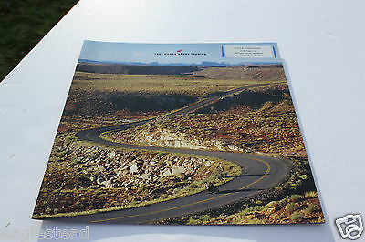 Motorcycle Brochure - Honda - st1100 abs II - Sport Touring - 1999  OS (DC327)