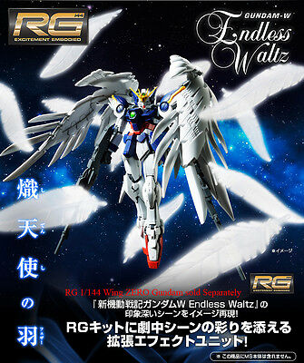 BANDAI 1/144 RG Expansion Effect Seraphim Feather for Wing Zero Gundam Model Kit