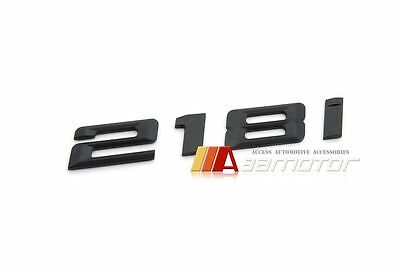 Matte Black BMW 2 series F22 F45 218i Boot Trunk Lid Emblem Badge Letter