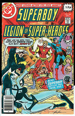 SUPERBOY ISSUE NUMBER 246 BY DC COMICS fn/vfn