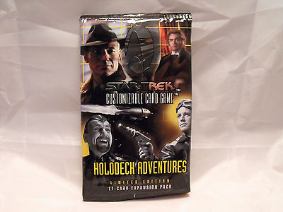 Star Trek Ccg Holodeck Sealed Booster Pack Of 11 Cards