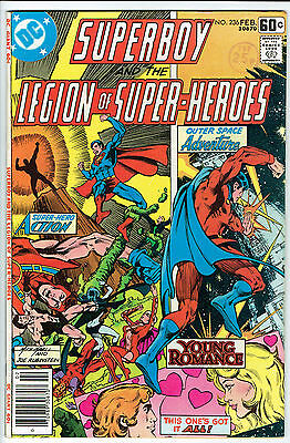 SUPERBOY ISSUE NUMBER 236 BY DC COMICS vfn-
