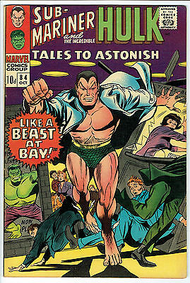 TALES TO ASTONISH ISSUE 84 BY MARVEL COMICS fn/vfn