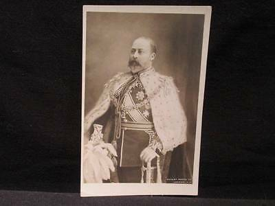 King Edward VII Rotary Photo Early 1900s B&W Unused Postcard