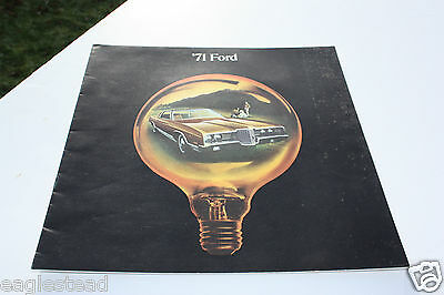 Auto Brochure - Ford - Product Line Overview - 1971 (AB425) - OS