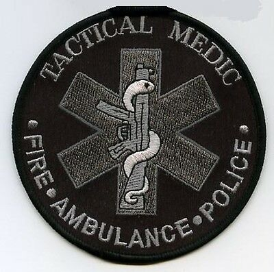 First-Responder Hss Tactical Medic Fire Ambulance Police 1St Pj Pedro Ems Patch