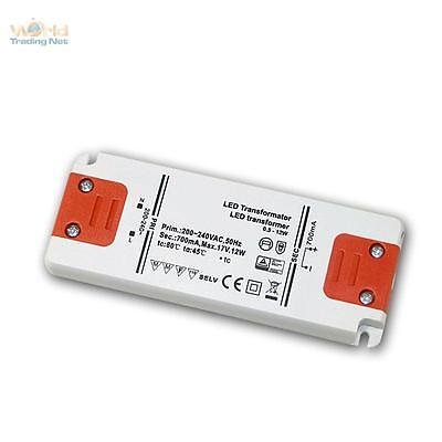 Slim Led Transformer Constant Current 700ma, 12w, 17v, Driver Evg Throttle