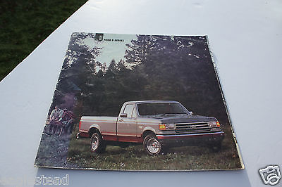 Truck Brochure - Ford - Product Line Overview - 1984 (TB850) - OS