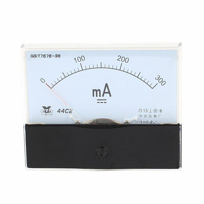 1pcs Analog 0-75A DC Current Panel Ampere Meter Guage 44C2-A Accuracy Class 1.5