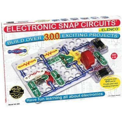 Snap Circuits Lights Electronics Discovery Kit SC-300 NEW