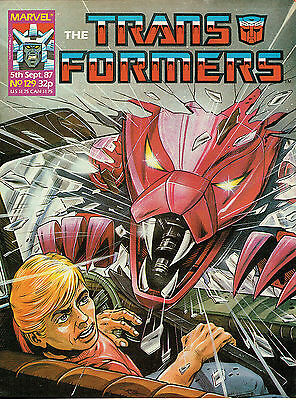 Transformes The Comic Series Issue Number 129 Vfn