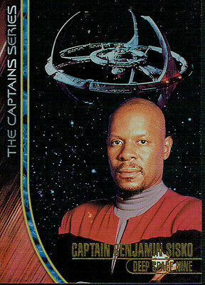 Star Trek Ds9 Memories From The Future Captains Card 3 Of 4 816/1200