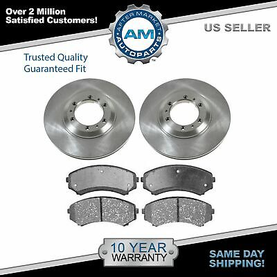 Disc Brake Rotor Rear Pair Set for Amigo Axiom Rodeo Sport Passport