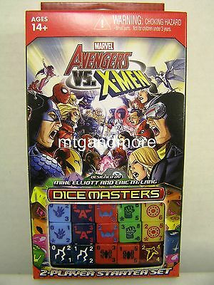 Marvel Dice Masters - Avengers vs X-Men Starter Set  - deutsch/french