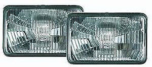 Hella 003177801 Halogen Conversion Headlamp Kit Includes 2 Lamps Rectangle
