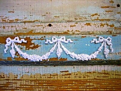 SHABBY & CHIC ROSE CENTER w/ SWAGS* FURNITURE APPLIQUES!