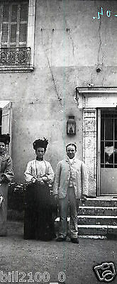 41 Blois  . photo négatif   . 1904