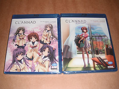 Clannad: Complete Season 1 and 2 Complete Set  Blu-ray Disc NEW