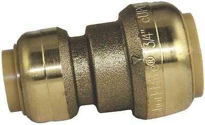 "Sharkbite U058Lfa Brass 1/2"" X 3/4"" Push Fit Copper Pex Cpvc Coupling 9106105"