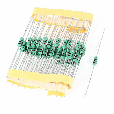 50 Pcs 100UH Inductance 1/2W 0.5W Power 10% Tolerance 0410 Colored Ring Inductor
