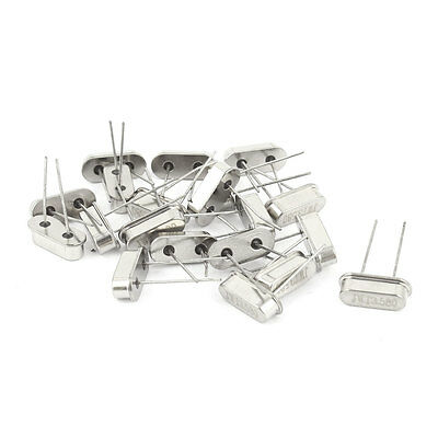20 x Low Profile 3.58MHZ Frequency Quartz Crystal Oscillator HC-49S Replacements