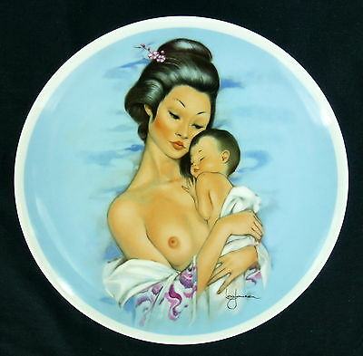 Leo Jansen Mothers Day 1978 Collector Plate Young Americans Royal Bayreuth LE