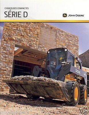 Equipment Brochure - John Deere - 318D et al D series Wheeled - FRENCH (E1805)