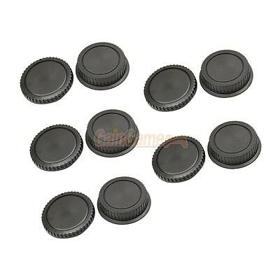 Lot 5 Rear Lens Cap + Camera body Cover cap for CANON EOS EF EF-S